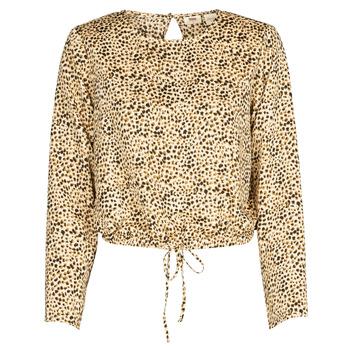 Textil Mulher camisas Levi's AMMOLITE SHIFTING SAND Bege