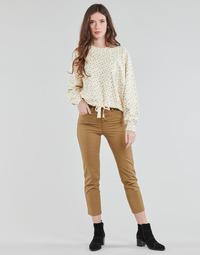 Textil Mulher Calças Levi's SOFT CANVAS TOASTED COCONUT OD Bege