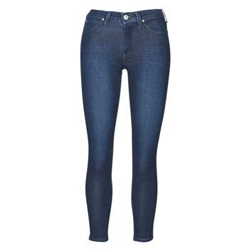 Textil Mulher Gangas Skinny Lee SCARLETT WHEATON Azul