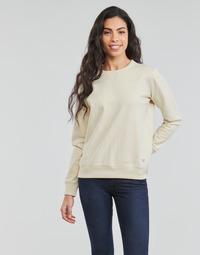 Textil Mulher Sweats Lee SUSTAINABLE SWS ECRU MELE Branco
