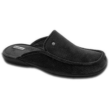 Sapatos Mulher Chinelos Cbp - Conbuenpie Zapato de mujer de piel con cuña by PEPE MENARGUES (TUPIE) Noir