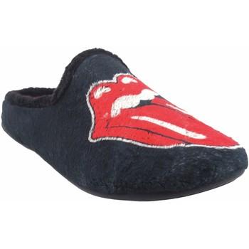 Sapatos Homem Chinelos Vulca Bicha Vá para casa cavalheiro  1826 ne.roj Rouge