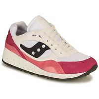 Sapatos Mulher Sapatilhas Saucony SHADOW 6000 Branco / Rosa