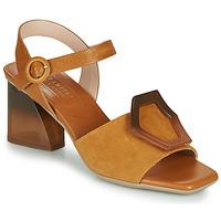 Sapatos Mulher Sandálias Hispanitas SANDY Castanho