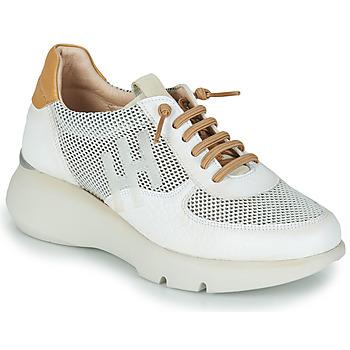 Sapatos Mulher Sapatilhas Hispanitas TELMA Branco / Ouro