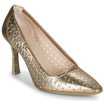 Sapatos Mulher Escarpim Hispanitas FRIDA-7 Ouro