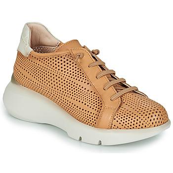 Sapatos Mulher Sapatilhas Hispanitas TELMA Camel / Bege