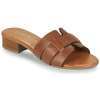 Sapatos Mulher Chinelos Hispanitas LOLA Castanho
