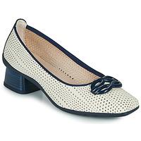 Sapatos Mulher Escarpim Hispanitas FIONA Branco / Azul