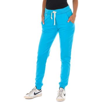Textil Mulher Calças de treino Met Pantalon de chandal Largo Azul