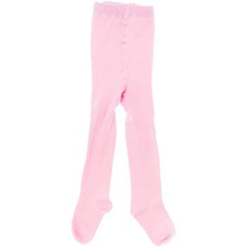 Roupa de interior Rapariga Meia calça / Meias de liga Marie Claire Leotardo infantil basico Rosa