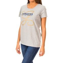Textil Mulher T-Shirt mangas curtas Gaastra Camiseta manga corta Cinza