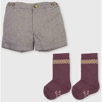 Textil Rapaz Shorts / Bermudas Tutto Piccolo Bermudas Cinza