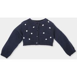 Textil Rapariga Casacos de malha Tutto Piccolo Chaqueta m/larga Azul