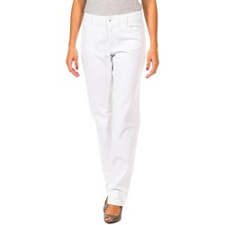 Textil Mulher Calças Gaastra Pantalon largo Branco