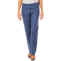 Textil Mulher Calças Gaastra Pantalon largo Azul