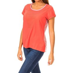 Textil Mulher T-Shirt mangas curtas Gaastra Camiseta manga corta Vermelho