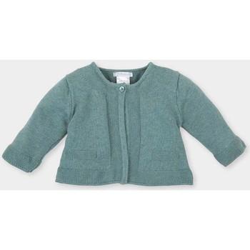 Textil Rapariga Casacos de malha Tutto Piccolo Chaqueta m/larga Verde