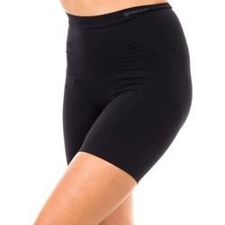 Textil Mulher Shorts / Bermudas Marie Claire Short Reductora Adelgazante Preto