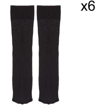 Acessórios Homem Meias Marie Claire Pack-6 Calcetines ejecutivo Kler Preto
