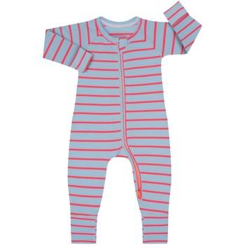 Textil Criança Macacões/ Jardineiras DIM Pelele manga larga con cremallera Multicolor