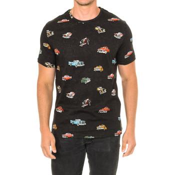 Textil Homem T-Shirt mangas curtas John Frank Camiseta de manga corta Cinza