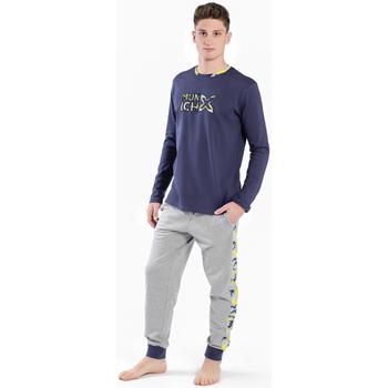 Textil Homem Pijamas / Camisas de dormir Munich Pijama Hombre Munich Cinza