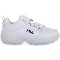 Sapatos Criança Sapatilhas Fila Strada Low Junior Branco