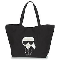 Malas Mulher Cabas / Sac shopping Karl Lagerfeld K/IKONIK KARL TOTE Preto