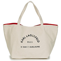 Malas Mulher Cabas / Sac shopping Karl Lagerfeld RUE ST GUILLAUE CANVAS TOTE Cru