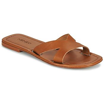Sapatos Mulher Chinelos Kenzo OPANKA Conhaque