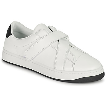 Sapatos Mulher Sapatilhas Kenzo ENZO KOURT SCRATCH SNEAKERS Branco