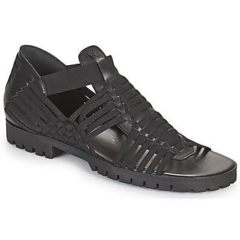 Sapatos Mulher Sandálias Kenzo GREEK FLAT SANDALS Preto