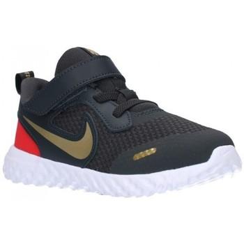Sapatos Rapaz Sapatilhas Nike BQ5672/5673 016 Niño Gris gris