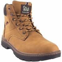 Sapatos Homem Botas baixas Bitesta masculino  39111 torrado Castanho