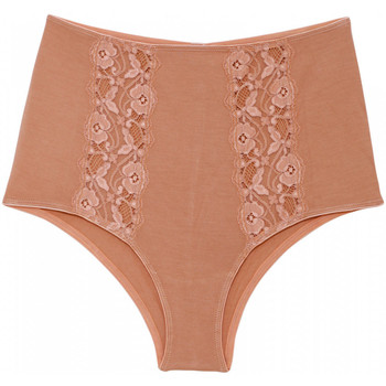 Roupa de interior Mulher Cuecas Underprotection BB1010 MIA HIPSTER TAN Bege