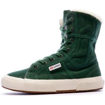 Sapatos Mulher Botins Superga  Verde