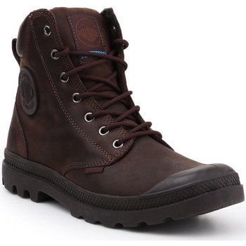 Sapatos Sapatilhas de cano-alto Palladium Manufacture Pampa Cuff WP LUX 73231-249-M brown