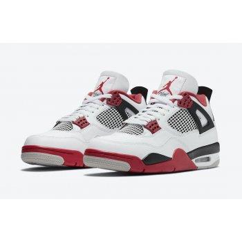 Sapatos Sapatilhas Nike Jordan 4 Tech Red White/Fire Red/Black/Tech Grey