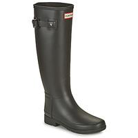 Sapatos Mulher Botas de borracha Hunter ORIGINAL REFINED Preto