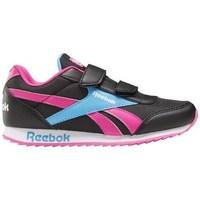 Sapatos Criança Sapatilhas Reebok Sport Royal CL Jogger Preto, Azul, Cor-de-rosa