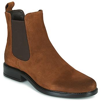 Sapatos Mulher Botas baixas Jonak ADELICE Camel