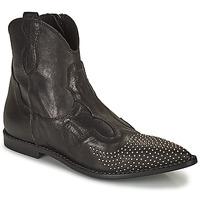 Sapatos Mulher Botas baixas Mimmu MONTONE NERO Preto