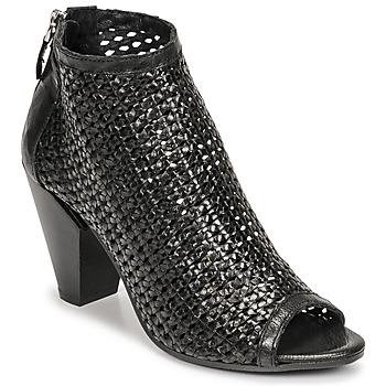 Sapatos Mulher Botas baixas Mimmu INTRECCIO-NERO-PARKER Preto