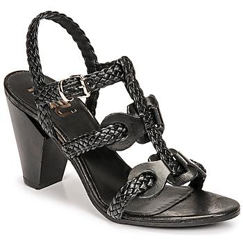 Sapatos Mulher Sandálias Mimmu TRECCIA-P-NERO Preto