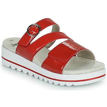 Sapatos Mulher Chinelos Jana JANITA Vermelho