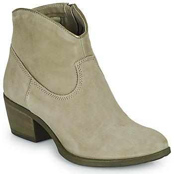 Sapatos Mulher Botins Mjus DAL COLOR Bege