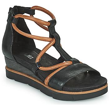 Sapatos Mulher Sandálias Mjus TAPASITA Preto / Camel