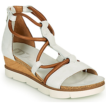 Sapatos Mulher Sandálias Mjus TAPASITA Branco / Camel