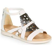Sapatos Mulher Sandálias Mjus KETTA Branco / Prateado